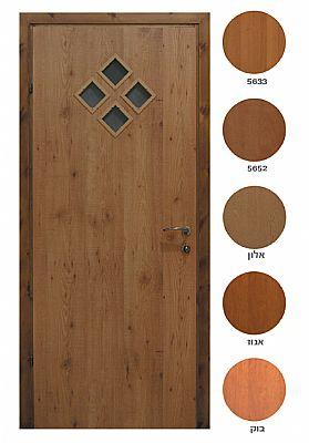 דלתות פנים מעץ מעוצבות